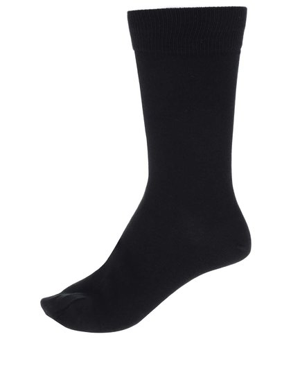 Sada tří párů ponožek v černé barvě Selected Homme Cotton