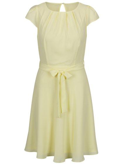 Žluté šaty se zavazováním v pase Billie & Blossom