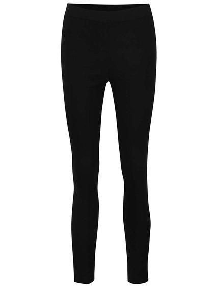 Černé elastické skinny kalhoty s pružným pasem Dorothy Perkins
