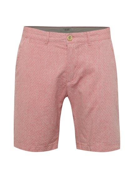 Pantaloni scurți roz Blend din bumbac