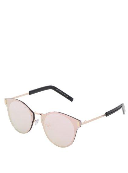 Sluneční brýle v růžovo-zlaté barvě Haily´s Danny
