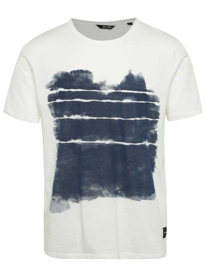 Krémové triko s potiskem ONLY & SONS Ingmar