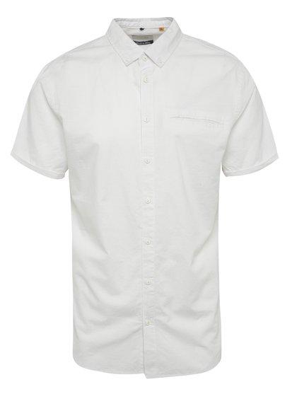 Bílá košile s krátkým rukávem Blend