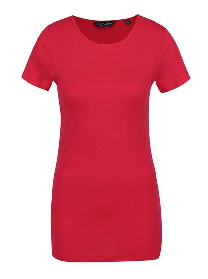 Červené basic tričko s krátkým rukávem Dorothy Perkins Tall