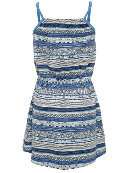 Modré holčičí vzorované šaty name it Viggakira