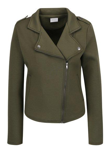 Jachetă kaki VILA Biker