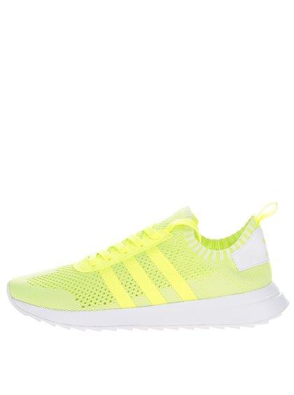 Neonově žluté dámské tenisky adidas Originals Flashback