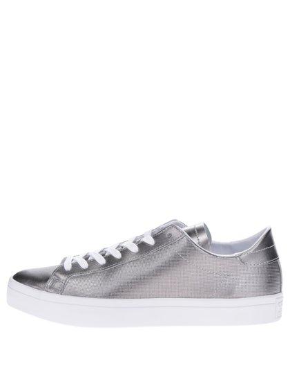 Dámské tenisky ve stříbrné barvě adidas Originals Courtvantage