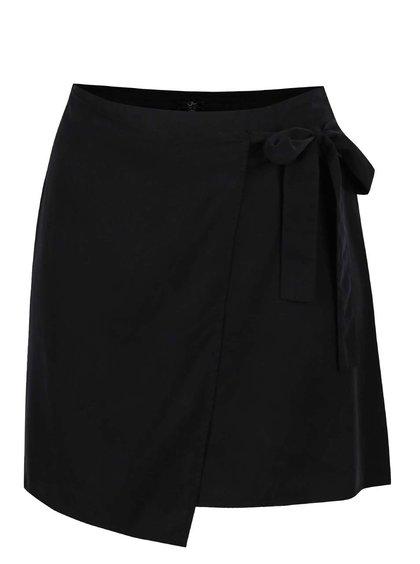 Černá zavinovací sukně Ulla Popken