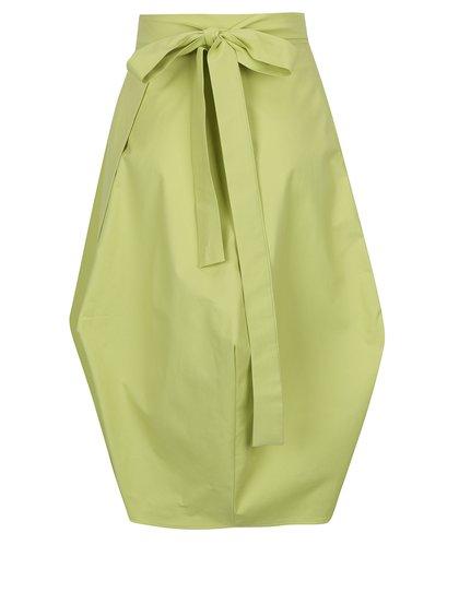 Světle zelená zavinovací sukně Bianca Popp