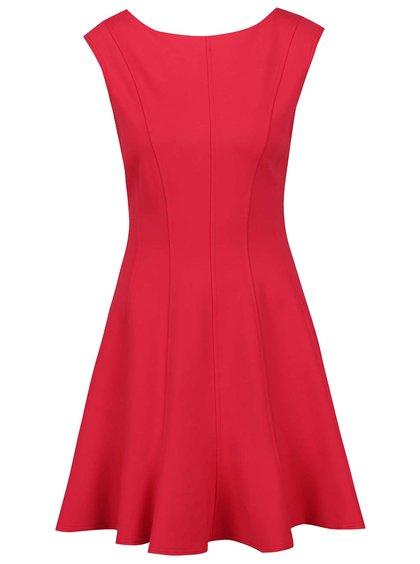 Rochie roșie Closet cu decupaj în V