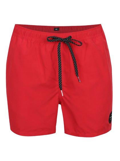 Červené pánské plavky Quiksilver Every Solid