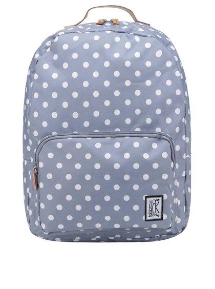 Šedý dámský puntíkovaný batoh The Pack Society 18 l