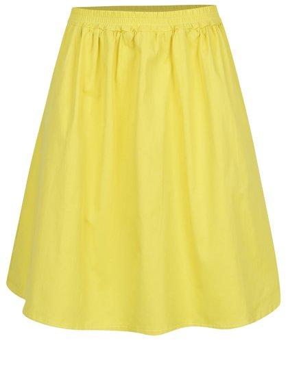 Žlutá sukně s kapsami ZOOT