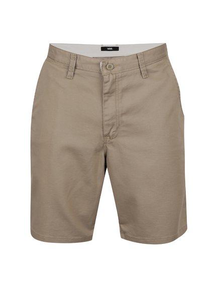Pantaloni scurți bej VANS cu buzunare oblice