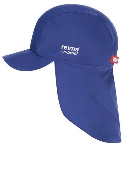 Modrá dětská čepice proti slunci Reima Somme