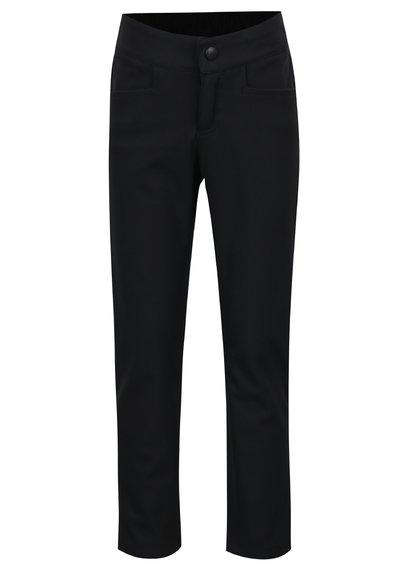 Černé holčičí softshellové kalhoty Reima Idole