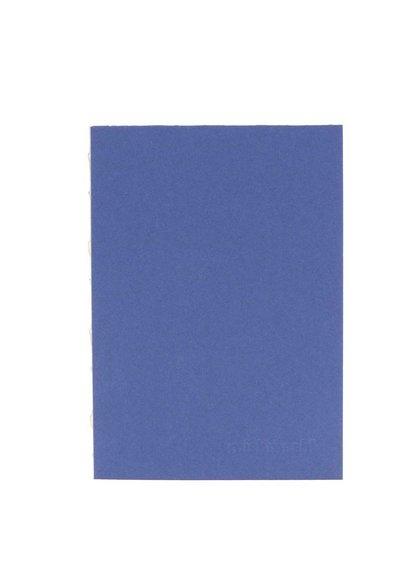 Modrý malý zápisník s okrajem ve zlaté barvě Mishmash