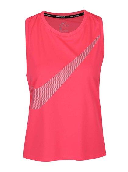 Maiou roz Nike Dry cu logo