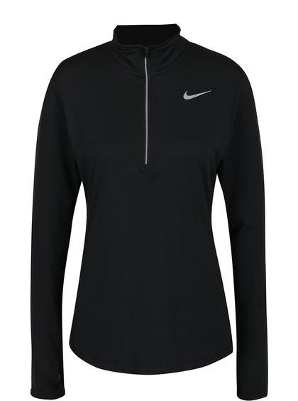 Bluză neagră cu fermoar pentru femei Nike
