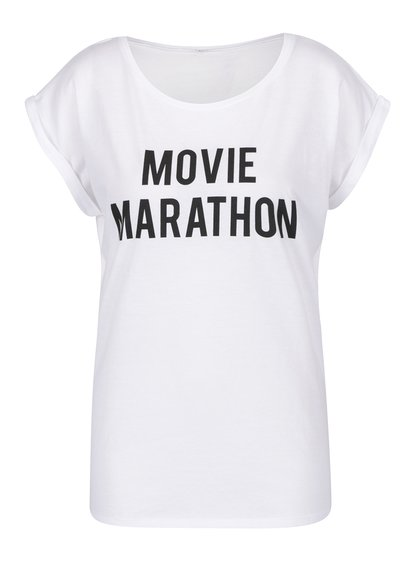 Bílé dámské tričko ZOOT Originál Movie Marathon