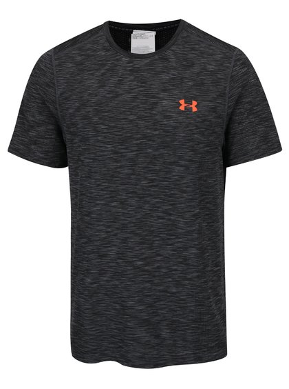 Tricou sport gri  Under Armour Threadborne Knit pentru bărbați