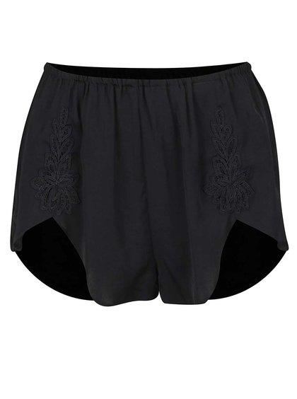 Pantaloni scurți cu detalii din dantelă Y.A.S Emilia