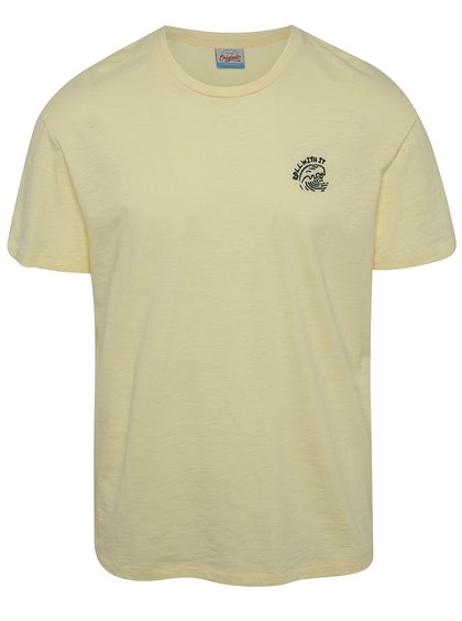 Žluté triko s výšivkou Jack & Jones Costa