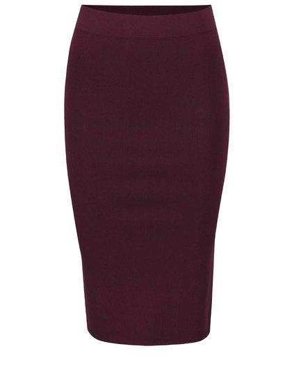 Fialová pouzdrová sukně Selected Femme Mirja