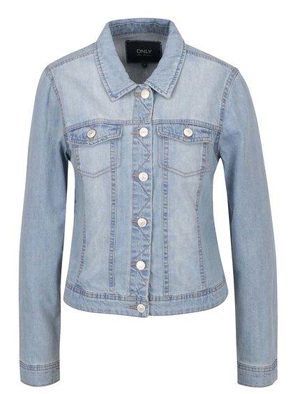 Jachetă albastră ONLY Westa din denim