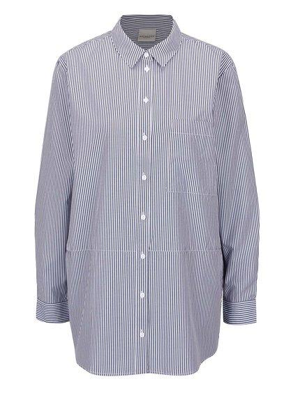 Bílo-modrá pruhovaná košile Selected Femme Cally