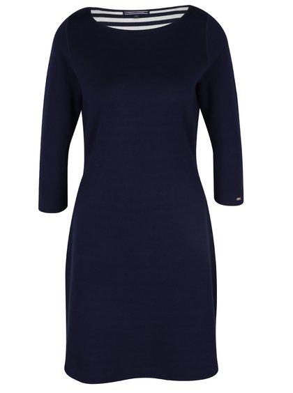 Tmavomodré šaty Tommy Hilfiger