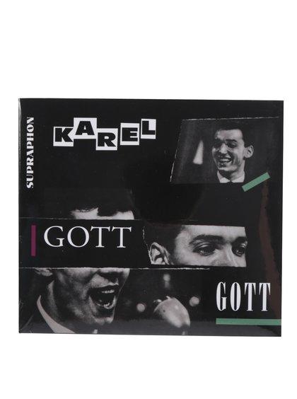 Bílo-černé CD Zpívá Karel Gott Gott My Life