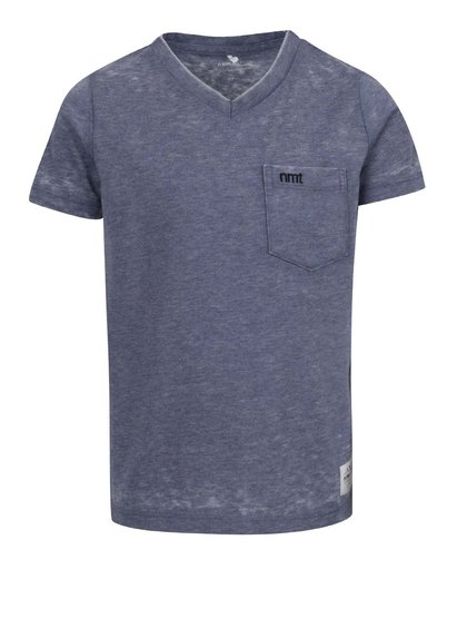 Tricou albastru cu buzunar name it Style