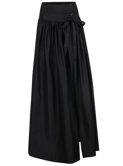 Černá zavinovací maxi sukně Alexandra Ghiorghie Evera