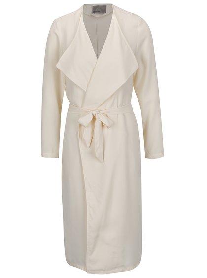 Krémový lehký kabátek s kapsami VERO MODA Maili