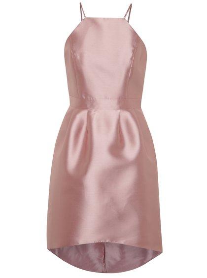 Rochie roz Miss Selfridge cu aspect satinat