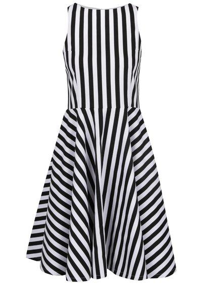 Černo-bílé pruhované šaty From Kaya with Love American