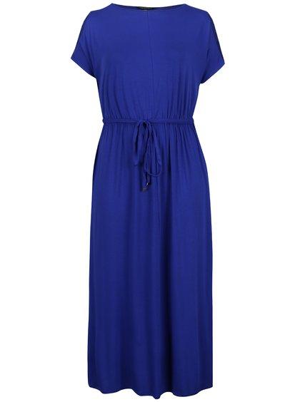Rochie maxi albastră  Dorothy Perkins Curve cu șnur în talie