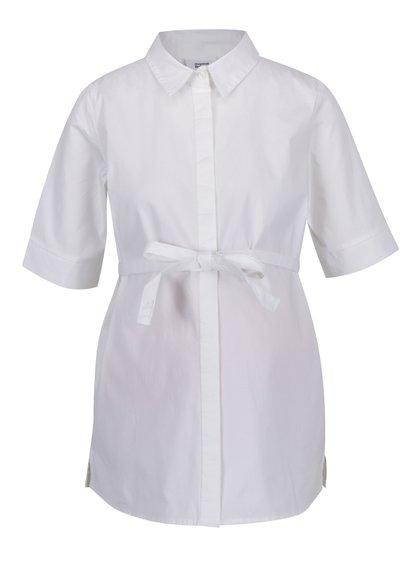 Bílá těhotenská košile s 3/4 rukávem Mama.licious Lemmy