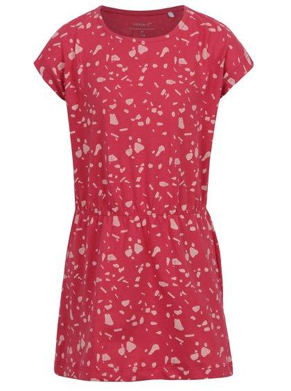 Červené vzorované šaty name it Viggahi