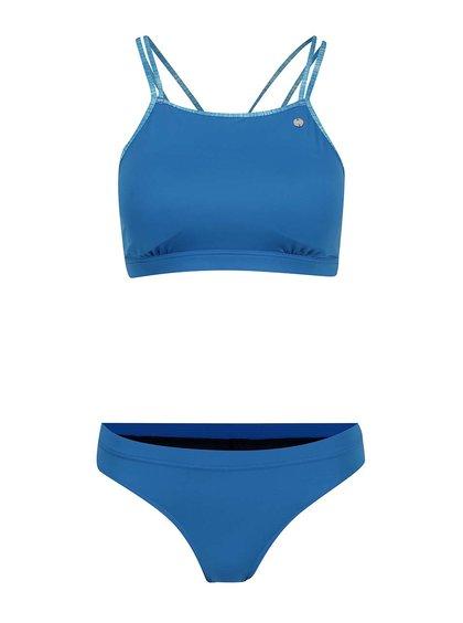 Modré dvoudílné plavky Bench