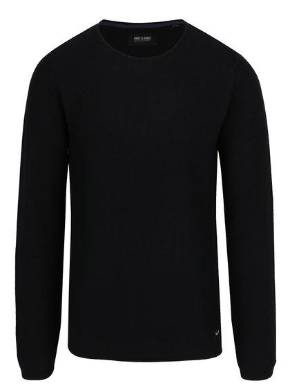 Černý svetr ONLY & SONS Gason