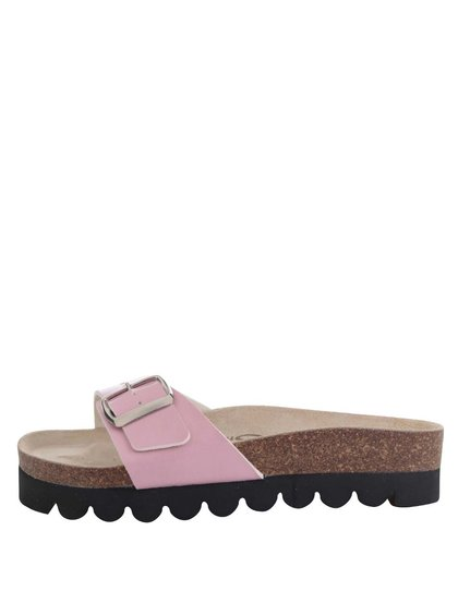 Papuci roz Snaha Lima 150 cu talpă comodă