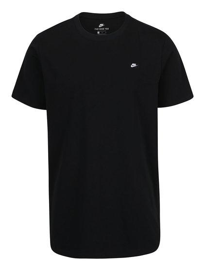 Černé pánské triko s logem Nike Tee