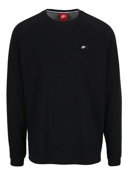 Hanorac negru cu detaliu fermoar Nike Modern