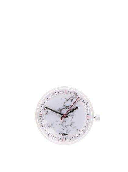 Bílý vzorovaný ciferník Ju'sto marmo bianco 32 mm