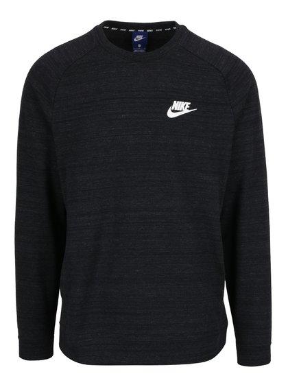 Hanorac negru cu detaliu fermoare Nike Modern