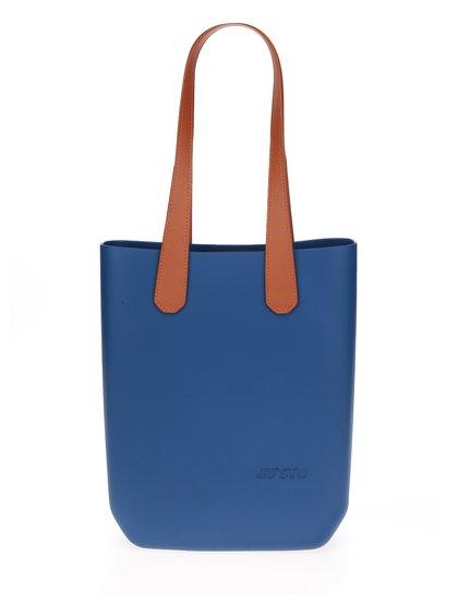 Modrá velká kabelka/shopper Ju'sto J-High