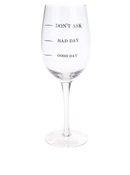 Pahar de vin cu text CGB Don´t ask